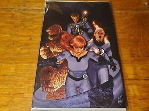 Fantastic Four #1 - Adam Hughes Virgin Variant Cover - 2018 Marvel VF+