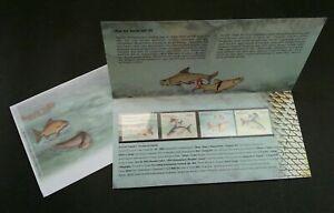 [SJ] Fresh Water Fish Series III Malaysia 2006 Fauna Animal (p.pack) MNH