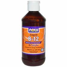 Now Foods, Liquid B-12, B-Complex, 8 fl oz (237 ml)