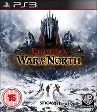 Il Signore degli Anelli: GUERRA del Nord ps3 * in ottime condizioni *