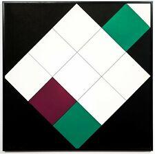 "Ursula graeff-Hirsch, ""flasi 29"" Edition. 25 Screen Print, 50x50cm, 1971 EXTREME..."