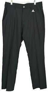 Adidas Men's 3 Stripes Golf Pants Size 32 X 30 Mens DM3081