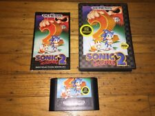 Sonic The Hedgehog 2 (Sega Genesis - Not For Resale) Complete in Case Excellent!