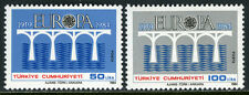 Turkey 2275-2276, MI 2667-2668, MNH. EUROPA CEPT. Bridge, 1984