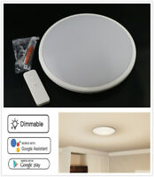 WIFI LED Ceiling Light Dimmable Lamp Home Fixture Smart APP To Alexa Google Home