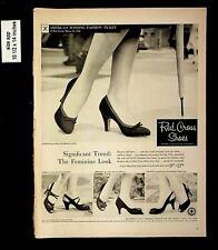 1956 Red Cross Shoes Feminine Looks Vintage Print Ads 9432