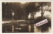 More details for adam & eve pond, hayes, 1920s real photo postcard (ref 7167/19 b02)