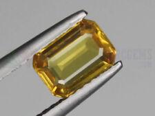 Emerald Yellow Transparent Loose Sapphires