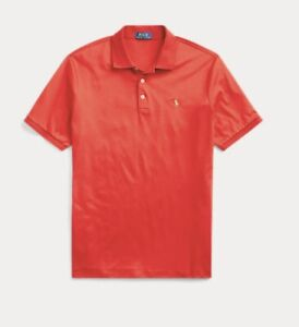 Polo Ralph Lauren Mens Classic Fit Soft Cotton Polo Size XL/Red