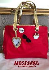 Große Moschino Tasche / Schopper / Bag / Handtasche rot Neu mit OVP Limitiert!