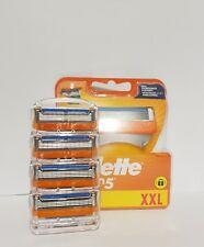 Gillette FUSION Rasierklingen 4 Stück/ Ohne Blister Verpackung Lose/ Original