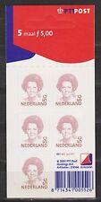 NVPH Nederland Netherlands V 1501 B MNH hangboekje Beatrix 5,- Gulden 2001