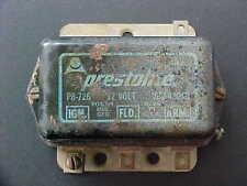 Maserati Engine Generator Regulator_Prestolite_Mistral_58568_OEM_Used
