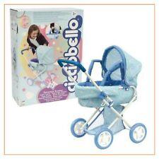 gioco giocattolo per bambina CICCIOBELLO passeggino carrozzina unicorno