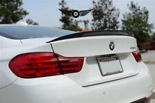 FOR 2014-16 BMW 4 SERIES F32 420i 428i 435i CARBON FIBER TRUNK SPOILER P STYLE