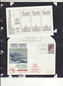 1977 SILVER JUBILEE - AUSTRALIA ROYAL FLIGHT AUSTRALIA TO ENGLAND 1 COVER