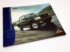 2003 Ford Explorer Sport Trac XLS XLT Brochure