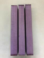 Purple Heart | Amaranth | Drechselholz | Tonholz | Tonewood | 500 x 60 x 60 mm