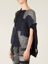 New Junya Watanabe Patchwork Knit Cape Sweater -RRP £1165