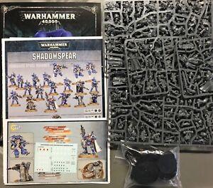 Games Workshop Warhammer 40K Shadowspear Space Marines Vanguard lot - 19 figures