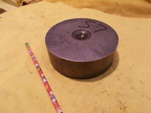 "S-7 TOOL STEEL ROD machine mold die shop round bar S7 stock 5 1/2"" OD x 1 3/4"""