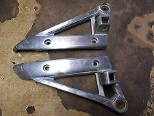 1985 Suzuki GV700 GV 700 Madura Rear Foot Peg Brackets