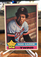 1976 Topps Baseball Rod Carew #400 EX HOF Twins ~ Free Shipping
