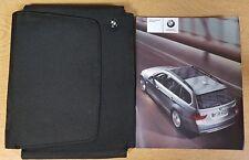 GENUINE BMW 3 SERIES E91 TOURING HANDBOOK MANUAL WALLET 2005-2008 PACK F-768