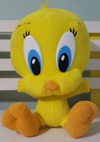 WB BABY LOONEY TUNES TWEETY PIE PLUSH TOY!  SOFT TOY ABOUT 30CM SEATED KIDS TOY!
