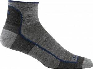 Darn Tough Mens 1/4 Sock Light - Merino walking, running socks