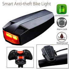 ANTUSI Smart Anti-theft Cycling Remote Control 4in1 COB Light USB Rechargable