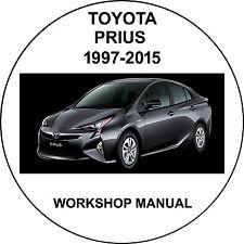 Toyota prius 1997-2010 Workshop Service Repair Manual