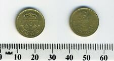 Macao 1993 - 10 Avos Brass Coin - Lion Dance Costume Head dress/crown