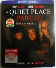 A Quiet Place 2-Movie Collection (Blu-ray + Digital + Slipcover, New & Sealed)