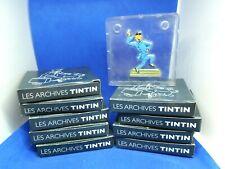 LOT 10  Figurines Collection  LES ARCHIVES TINTIN Hergé-Moulinsart 2010 Belgique