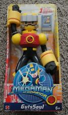 MEGAMAN NT WARRIOR GUTSSOUL FIGURE 10' NEW RARE WITH CHIP GUTS SOUL INCH 9.5