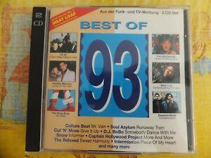 "SAMPLER ""Best of 93"" 2CD (Depeche Mode, Meat Loaf, Freddie Mercury, R.E.M....)"