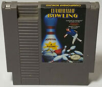 Championship Bowling (Nintendo Entertainment System, 1989) Cart Only 3 Screw