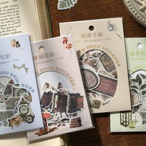 Decorative Mr Paper Antique Style Craft,Journal Stickers