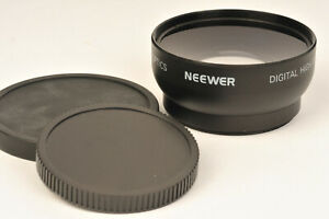 Neewer Semi Fish Eye 0.45X Auxilliary Lens to fit 52mm Lens Filter Thread