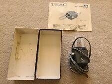 Teac E-1 Reel-To-Reel Tape Head Demagnetizer In Original Box w/Manual