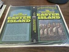 THE MYSTERIES OF EASTER ISLAND BY JEAN-MICHAEL SCHWARTZ - PAPERBACK PROOF