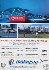 MALAYSIA AIRLINES 2002 PARIS TO KUALA LUMPUR KLIA AIRPORT AT NIGHT 747 AD