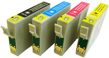 4 SETS (ANY 16) PRINTER INK CARTRIDGES FOR EPSON STYLUS OFFICE B42WD / BX320FW