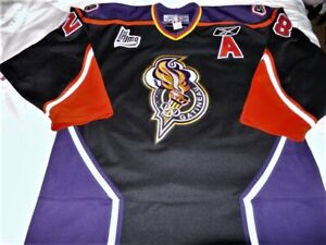 Reebok Authentic Gatineau Olympiques Claude Giroux Jersey sz 56 Team Issued RARE