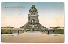 Monument to the Battle of the Nations / Völkerschlachtdenkmal PPC, Leipzig 1922