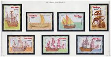 VIETNAM N°1051/1057** Bateau Voilier, 1990 Vietnam 2126-32 Boat sailing ship MNH