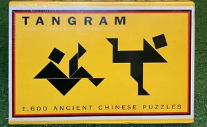 Puzzle Tangram 1600 Ancient Chinese Puzzles Box Set Shape Puzzle New Sealed
