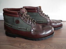 Timberland Classic Mens Brown Leather and Gore-tex Boots Shoes UK12.5W EU47.5