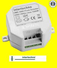 INTERTECHNO CMR-1000 Funkschalter Funk-EIN/AUS-Schalter LED,Glüh-Lampen,ESL etc.